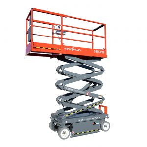 scissor lift sjIII-3219 rental